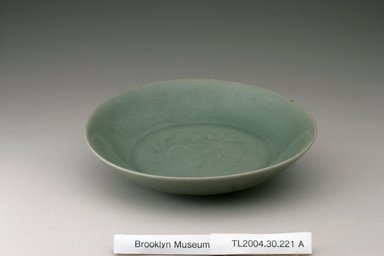Bowl, last half 12th century. Stoneware with celadon glaze