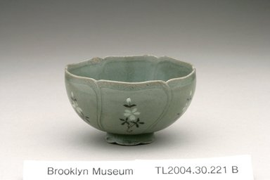 Cup, 12th century. Stoneware with celadon glaze , Height: 1 11/16 in. (4.3 cm). Brooklyn Museum, The Peggy N. and Roger G. Gerry Collection, 2004.28.292. Creative Commons-BY