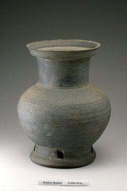 Brooklyn Museum: Pedestal Jar