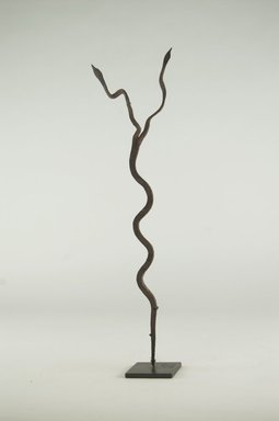 Lobi. Snake. Iron, 13 3/8 x 3 1/8 x 2 3/16 in. (34 x 8 x 5.5 cm). Brooklyn Museum, Gift of Michael Ward, 2006.67.17. Creative Commons-BY
