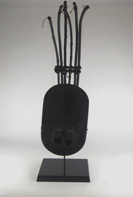 Musical Stringed Instrument, early 20th century. Wood, metal, reed, 30 5/16 x 9 5/8 x 13 3/4 in. (77 x 24.5 x 35 cm). Brooklyn Museum, Gift of Michael Ward, 2006.67.23. Creative Commons-BY