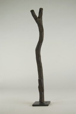 Dogon. Miniature Ladder, 19th century. Wood, 14 15/16 x 2 3/4 x 2 3/8 in. (38 x 7 x 6 cm). Brooklyn Museum, Gift of Michael Ward, 2006.67.8. Creative Commons-BY