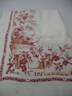 Table Cloth, ca. 1890. Linen, 80 x 120 in. (203.2 x 304.8 cm). Brooklyn Museum, Gift of Paul F. Walter, 2007.62.36. Creative Commons-BY