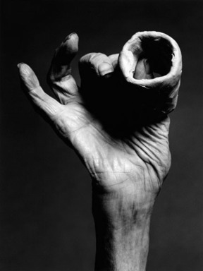 Holger Keifel (German, born 1962). Louise Bourgeois, 'Hand with Clay', 2002. Inkjet print, 18 1/4 x 22 1/4 in. (46.4 x 56.5 cm). Brooklyn Museum, Gift of the artist, 2008.63. © Holger Keifel