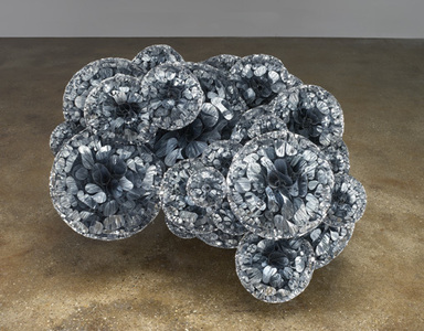 Tara Donovan (American, born 1969). Untitled, 2009. Mylar and hot glue, 18 1/4 x 32 1/2 x 30 in. (46.4 x 82.6 x 76.2 cm). Brooklyn Museum, Gift of the Contemporary Art Council, 2009.24. © Tara Donovan, courtesy Pace Gallery
