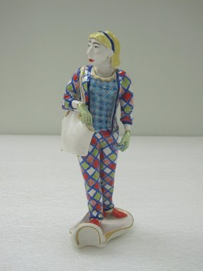 Ann Agee (American, born 1959). Figure, 1995/1997. Porcelain, 8 3/4 x 3 x 3 1/2 in. (22.2 x 7.6 x 8.9 cm). Brooklyn Museum, Gift of Joseph F. McCrindle in memory of J. Fuller Feder, by exchange, 2010.12.1. © Ann Agee