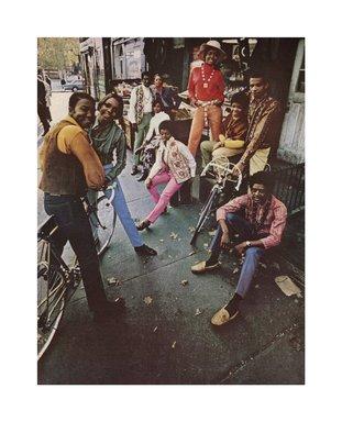 Hank Willis Thomas (American, born 1976). The Oft Forgotten Black Flower Children of Harlem 1969/2006, 1969/2006. Digital print, 35 x 29 in. (88.9 x 73.7 cm). Brooklyn Museum, Mary Smith Dorward Fund and gift of Robert Smith, by exchange, 2010.18.2. © Hank Willis Thomas