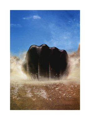 Hank Willis Thomas (American, born 1976). 21st Century Soul Power 2005/2006, 2005/2006. Digital print, 36 x 27 in. (91.4 x 68.6 cm). Brooklyn Museum, Mary Smith Dorward Fund and gift of Robert Smith, by exchange, 2010.18.38. © Hank Willis Thomas