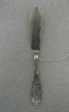 Butter Knife, 19th century. Silver Brooklyn Museum, Gift of William Lee Younger in memory of Joseph A. Henehan, 2010.77.24. Creative Commons-BY