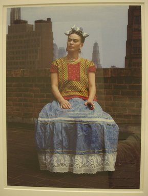 Nickolas Muray (American, born Hungary, 1892-1965). Frida in New York, 1946; printed 2006. Carbon pigment print, sheet: 22 x 18 in. (55.9 x 45.7 cm). Brooklyn Museum, Emily Winthrop Miles Fund, 2010.80. © Nickolas Muray Photo Archives