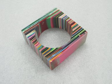 Carlos Sobral (Brazilian, born 1950). KL Sculpture Bracelet, Designed 2008. Resin