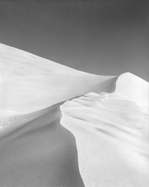 Peter Neumann (American, born 1947). 45.97.89 (Light Dunes), 1989, reprinted digitally 2011. Digital photograph scanned from negative, 19 x 13 in. (48.3 x 33 cm). Brooklyn Museum, Gift of the artist, 2011.72.1. © Peter Neumann