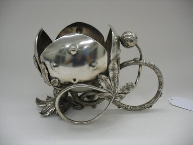 Meriden Silver Plate Company, a division of International Silver Co. (American, founded 1898). Nut Bowl, ca. 1880s. Silverplate, 6 3/4 x 10 1/2 x 6 in. (17.1 x 26.7 x 15.2 cm). Brooklyn Museum, Gift of Sarah Eigen, 2012.60.7. Creative Commons-BY