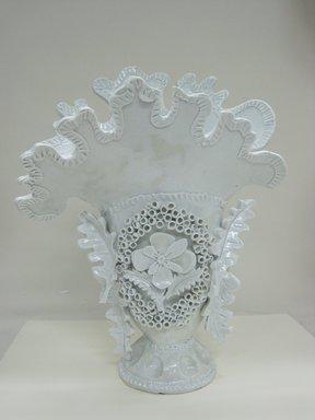 Ann Agee (American, born 1959). Vase, 2011. Porcelain, 15 5/8 x 11 3/4 x 7 1/2 in. (39.7 x 29.8 x 19.1 cm). Brooklyn Museum, Gift of Flavio Pompetti, 2013.16. © Ann Agee