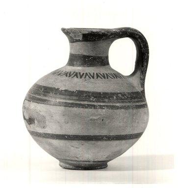 Helladic. Jug. Pottery, Ht. 10.4 cm. Diam.9.4cm. Brooklyn Museum, Bequest of William H. Herriman, 21.479.2. Creative Commons-BY