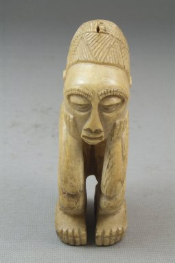 Image of Man. Ivory Brooklyn Museum, Museum Expedition 1922, Robert B. Woodward Memorial Fund, 22.1258. Creative Commons-BY
