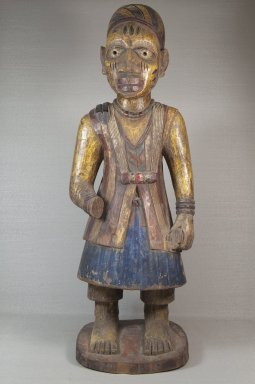 Brooklyn Museum: Figure of a Standing Male