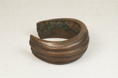 Bracelet, before 1922. Copper, 1 1/8 x 2 3/16 in. (2.8 x 5.5 cm). Brooklyn Museum, Museum Expedition 1922, Robert B. Woodward Memorial Fund, 22.1538. Creative Commons-BY