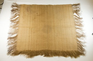 Mbuun. Raffia Cloth, 19th century. Raffia
