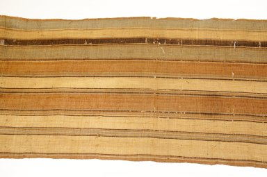 Possibly Sakalava. Long Strip Woven Rafia Cloth, 19th century. Raffia, 18 1/8 x 151 3/16 in. (46 x 384 cm). Brooklyn Museum, Museum Expedition 1922, Robert B. Woodward Memorial Fund, 22.1559. Creative Commons-BY