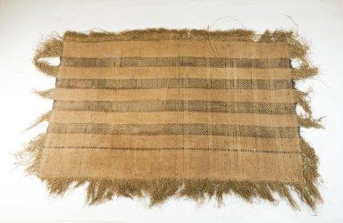 Raffia Cloth, 19th century. Raffia, 21 x 31 1/2 in. (54.0 x 80.0 cm). Brooklyn Museum, Museum Expedition 1922, Robert B. Woodward Memorial Fund, 22.1618. Creative Commons-BY
