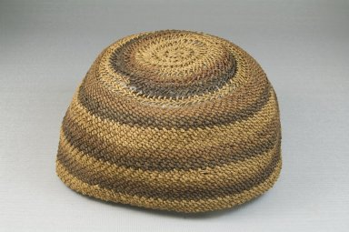 Brooklyn Museum: Basketry Cap (Mpu)