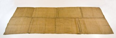 Raffia Cloth, 19th century. Raffia, 81 x 35 in. (204.0 x 44.0 cm). Brooklyn Museum, Museum Expedition 1922, Robert B. Woodward Memorial Fund, 22.1635. Creative Commons-BY