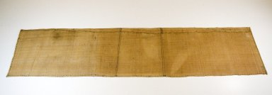 Raffia Cloth, 19th century. Raffia, 167.0 x 37.0 cm. Brooklyn Museum, Museum Expedition 1922, Robert B. Woodward Memorial Fund, 22.1638. Creative Commons-BY
