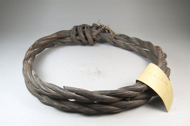 Coil of Rope. Fiber, 11 in. (28 cm). Brooklyn Museum, Museum Expedition 1922, Robert B. Woodward Memorial Fund, 22.1680. Creative Commons-BY
