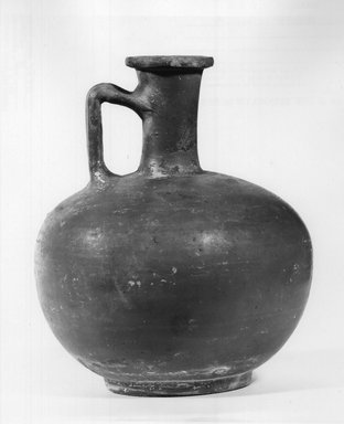 Cypriot. Jar, 150-250 C.E. Clay, 6 7/16 x Diam. 5 3/8 in. (16.4 x 13.6 cm) . Brooklyn Museum, Gift of Mrs. Frederic H. Betts, 22.18. Creative Commons-BY