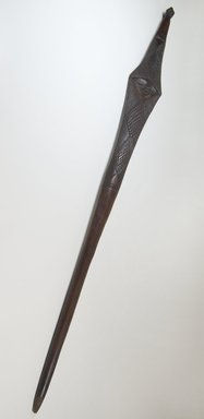 Pindi. Stave, late 19th or early 20th century. Wood, 37 3/16 x 3 1/4 in. (94.5 x 8.3 cm). Brooklyn Museum, Museum Expedition 1922, Robert B. Woodward Memorial Fund, 22.199. Creative Commons-BY