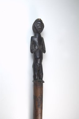 Possibly Mbala. Stave, late 19th-early 20th century. Wood, 1 5/8 x 41 1/8 in. (4.1 x 104.5 cm). Brooklyn Museum, Museum Expedition 1922, Robert B. Woodward Memorial Fund, 22.209. Creative Commons-BY