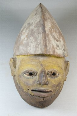 Yoruba. Gelede Mask, 19th century. Wood, pigment, 8 1/2 x 7 x 13 1/2 in. (21.6 x 17.8 x 34.3 cm). Brooklyn Museum, Robert B. Woodward Memorial Fund