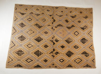 Kuba. Raffia Pile Panel, 19th century. Raffia, 27 3/4 x 22 5/8 in. (70.5 x 57.5 cm). Brooklyn Museum, Museum Expedition 1922, Robert B. Woodward Memorial Fund, 22.242. Creative Commons-BY