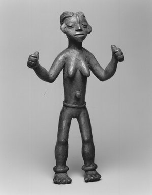 Brooklyn Museum: Standing Female Nude