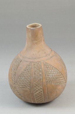 Calabash, before 1922. Gourd, height: 3 15/16 in. (10 cm); diameter: 2 15/16 in. (7.5 cm). Brooklyn Museum, Museum Expedition 1922, Robert B. Woodward Memorial Fund, 22.361. Creative Commons-BY
