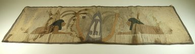 Cloth with Figures Appliqued, before 1922. Cloth, 16 3/4 x 48 in. (42.5 x 121.9 cm). Brooklyn Museum, Museum Expedition 1922, Robert B. Woodward Memorial Fund, 22.381. Creative Commons-BY