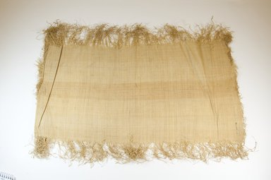 Possibly Kuba. Raffia Cloth, 19th century. Raffia, 24 3/4 x 10 1/2 in. (63.5 x 26.5 cm). Brooklyn Museum, Museum Expedition 1922, Robert B. Woodward Memorial Fund, 22.469.13. Creative Commons-BY