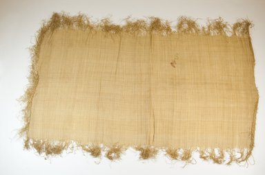 Possibly Kuba. Raffia Cloth, 19th century. Raffia, 25 1/2 x 13 1/4 in. (65.0 x 33.5 cm). Brooklyn Museum, Museum Expedition 1922, Robert B. Woodward Memorial Fund, 22.469.20. Creative Commons-BY