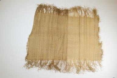 Possibly Kuba. Raffia Cloth, 19th century. Raffia, 20 x 13 3/4 in. (51.0 x 35.0 cm). Brooklyn Museum, Museum Expedition 1922, Robert B. Woodward Memorial Fund, 22.469.31. Creative Commons-BY