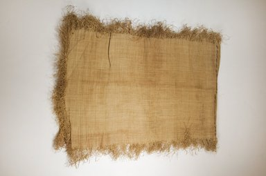 Possibly Kuba. Raffia Cloth, 19th century. Raffia, 120.0 x 37.0 cm. Brooklyn Museum, Museum Expedition 1922, Robert B. Woodward Memorial Fund, 22.469.35. Creative Commons-BY