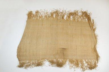 Possibly Kuba. Raffia Cloth, 19th century. Raffia, 21 5/8 x 11 3/4 in. (55.0 x 30.0 cm). Brooklyn Museum, Museum Expedition 1922, Robert B. Woodward Memorial Fund, 22.469.37. Creative Commons-BY