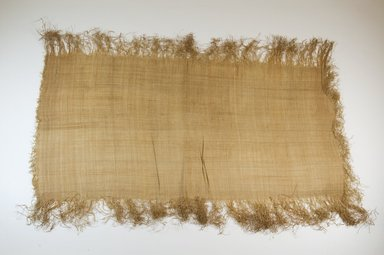 Possibly Kuba. Raffia Cloth, 19th century. Raffia, 24 3/8 x 12 5/8 in. (62.0 x 32.0 cm). Brooklyn Museum, Museum Expedition 1922, Robert B. Woodward Memorial Fund, 22.469.42. Creative Commons-BY