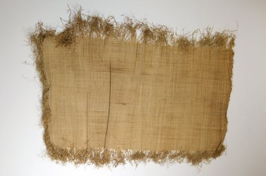 Possibly Kuba. Raffia Cloth, 19th century. Raffia, 25 1/4 x. Brooklyn Museum, Museum Expedition 1922, Robert B. Woodward Memorial Fund, 22.469.45. Creative Commons-BY