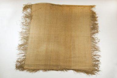 Possibly Kuba. Raffia Cloth, 19th century. Raffia, 20 1/2 x 18 1/4 in. (52.0 x 46.5 cm). Brooklyn Museum, Museum Expedition 1922, Robert B. Woodward Memorial Fund, 22.469.50. Creative Commons-BY