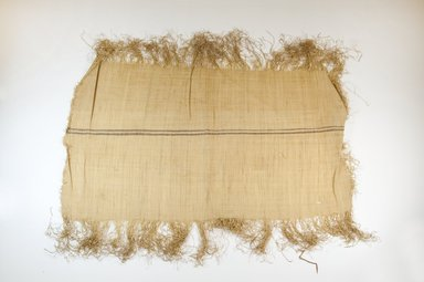 Possibly Kuba. Raffia Cloth, 19th century. Raffia, 23 1/4 x 13 3/8 in. (59.0 x 34.0 cm). Brooklyn Museum, Museum Expedition 1922, Robert B. Woodward Memorial Fund, 22.469.51. Creative Commons-BY