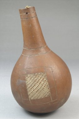 Calabash, before 1922. Calabash, clay, height: 4 15/16 in. (12.5 cm); diameter: 2 13/16 in. (7.1 cm). Brooklyn Museum, Museum Expedition 1922, Robert B. Woodward Memorial Fund, 22.517. Creative Commons-BY