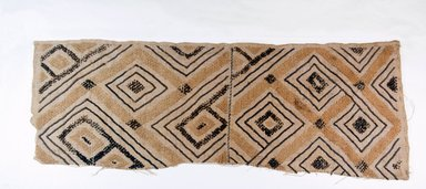 Raffia Cloth, 19th century. Raffia, 24 x 17 1/2 in. (61.0 x 23.5 cm). Brooklyn Museum, Museum Expedition 1922, Robert B. Woodward Memorial Fund, 22.549. Creative Commons-BY