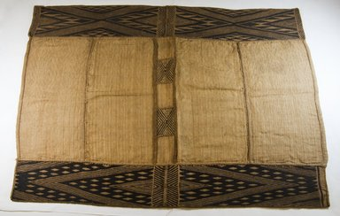 Mbuun. Raffia Cloth, 19th century. Raffia, 37 1/8 x 27 in. (94.0 x 60.90 cm). Brooklyn Museum, Museum Expedition 1922, Robert B. Woodward Memorial Fund, 22.550. Creative Commons-BY