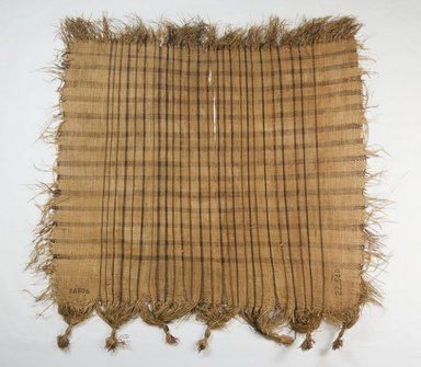 Raffia Cloth, 19th century. Raffia, 21 3/8 x 21 in. (54.5 x 53.5 cm). Brooklyn Museum, Museum Expedition 1922, Robert B. Woodward Memorial Fund, 22.560. Creative Commons-BY
